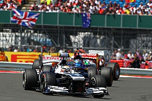 Maldonado finished 11th with Bottas 12th in today's British Grand Prix