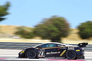 Lamborghini Blancpain Super Trofeo has successful debut at Lime Rock Park