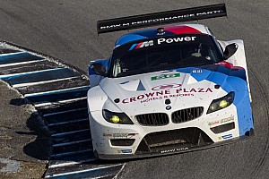 ALMS Qualifying report BMW Team RLL sweeps Northeast Grand Prix GT front row