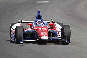 IndyCar Qualifying report Takuma Sato qualifies eighth for Pocono 400 but will start 7th