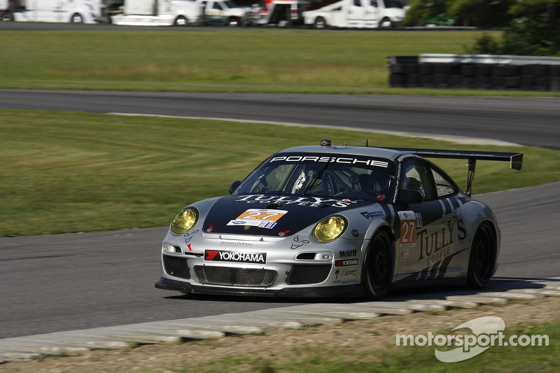Patrick Dempsey, Andy Lally endure challenging day at Lime Rock Park
