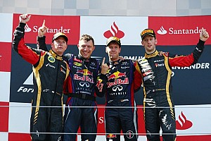 Formula 1 Race report Vettel achieves maiden home race victory at Nurburgring