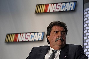 NASCAR Breaking news President-turned-Professor: Helton joins diversity interns for 'lunch and learn'