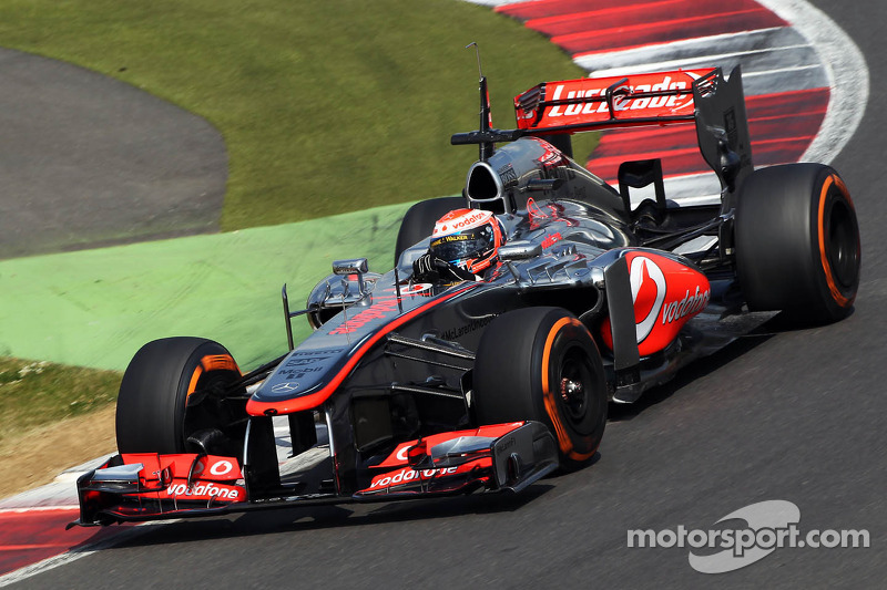 Magnussen on top in Young Driver Testing on day one at Silverstone