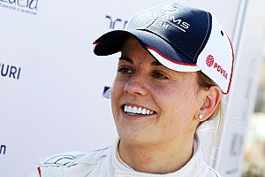 Susie Wolff closes final day of YDT for Williams