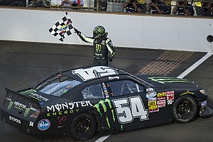 NASCAR XFINITY Race report Kyle Busch thrashes Nationwide Series field at Indy