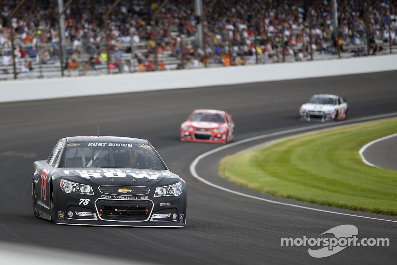 Kurt Busch finishes 14th in Brickyard 400