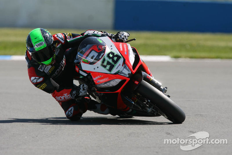 Tribute to Antonelli at Silverstone and first Superpole for Laverty