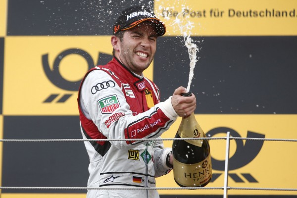 Rockenfeller wins successful DTM premiere in Russia
