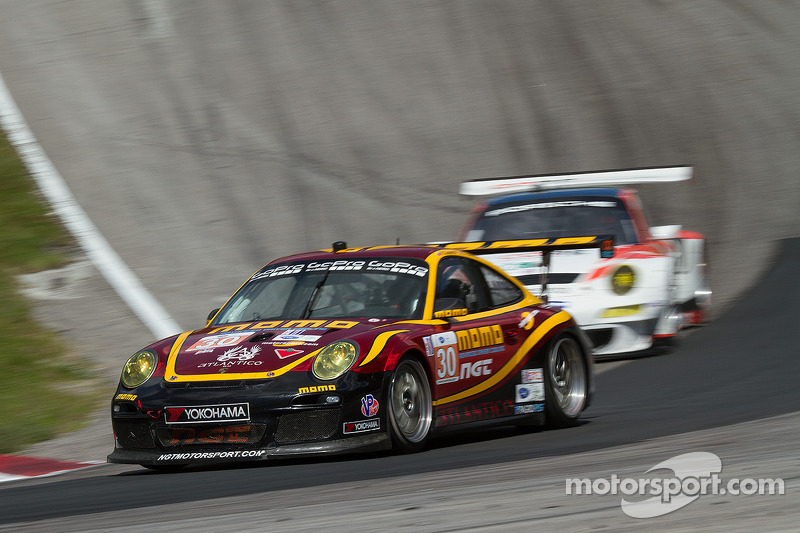 Sean Edwards puts MOMO NGT on front row in GTC class at Road America