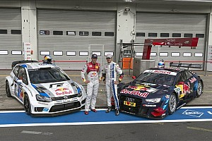Rally star Ogier in Audi RS 5 DTM