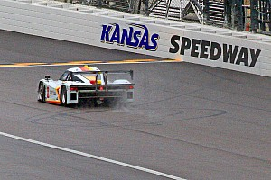 Grand-Am Race report Tough race at Kansas Speedway for Starworks Motorsport