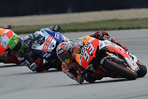 MotoGP Race report Magic Marquez masters Indy to clinch third-straight victory