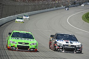 NASCAR Sprint Cup Race report Dillon brings no. 14 home 14th at Michigan