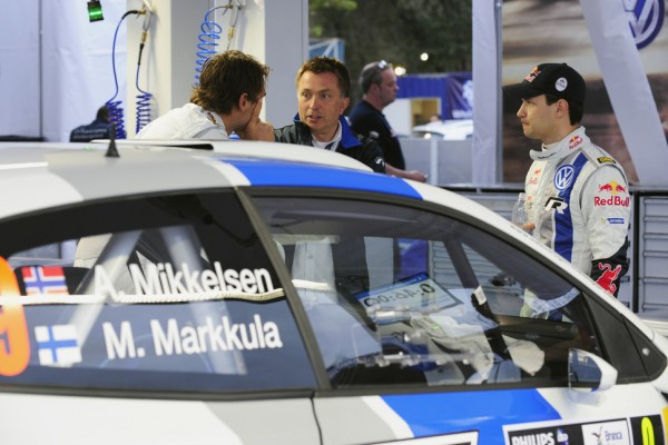 Mikkelsen, Markkula forced to withdraw from Rally Germany