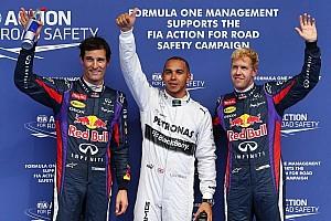 Hamilton grabs last-gasp pole in Belgium