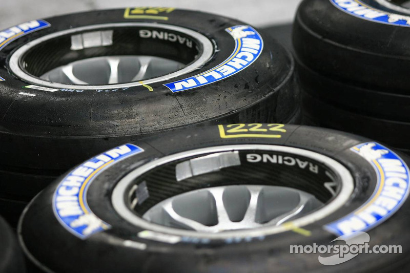 Michelin 'ready' for 2014 F1 tyre talks