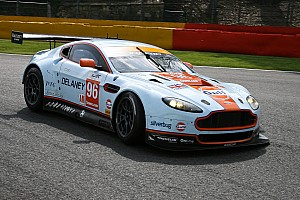 Aston Martin celebrates victory at Six Hours of São Paulo