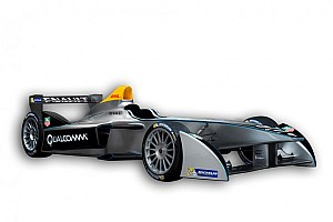 Formula E Breaking news Formula E unveils new Spark-Renault SRT_01E at Frankfurt Motor Show