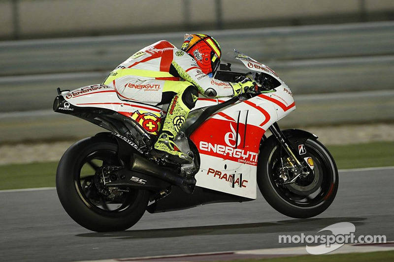 Iannone concludes Friday practice at Misano