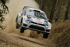 WRC Stage report Master class – Volkswagen driver Ogier leading in Australia