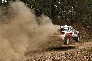 WRC Leg report Mikko rides the waves to podium