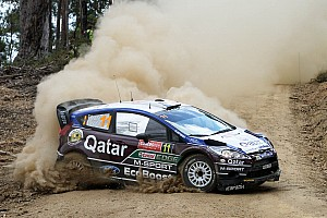 Neuville on course for Rally Australia podium