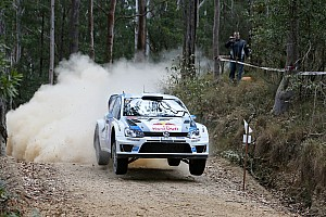 WRC Race report WRC title within reach: Volkswagen driver Ogier extends his lead