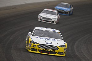 Gilliland gets attitude adjustment from Kerr at New Hampshire 300