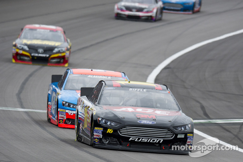 Biffle's path to the title goes through Kansas