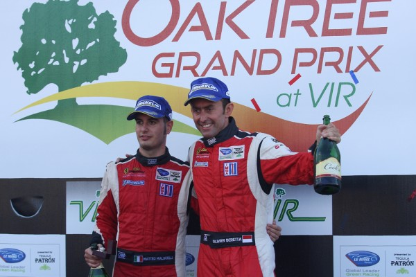 Malucelli, Beretta return Risi Ferrari to victory lane at VIR