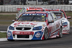V8 Supercars Practice report Transmission slows Brighty's charge at Bathurst