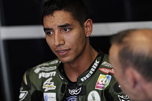 Yonny Hernandez on the sixth row at Sepang