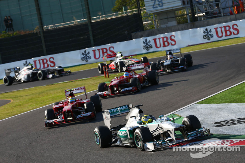 Tough race for Mercedes AMG Petronas at Japan