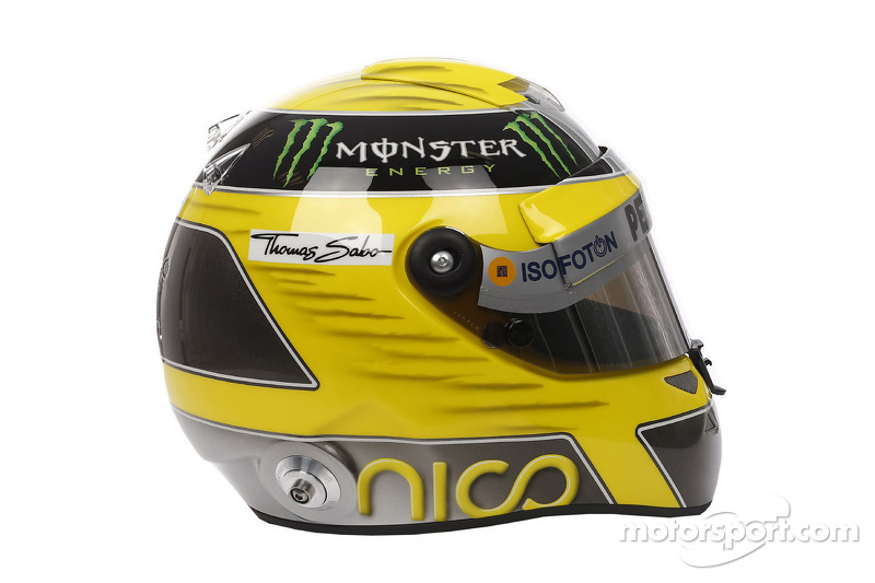 Rosberg wants help to find stolen helmet