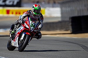 World Superbike Qualifying report Giugliano leads Jerez Friday qualifying over Melandri and Laverty