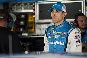 NASCAR Sprint Cup Breaking news Despite crew chief's absence, Aric Almirola finds speed at Talladega