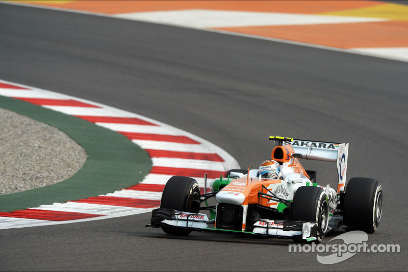 A positive practice for Force India at Buddh