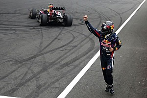 Formula 1 Race report Vettel wins Indian Grand Prix to clinch 2013 championship