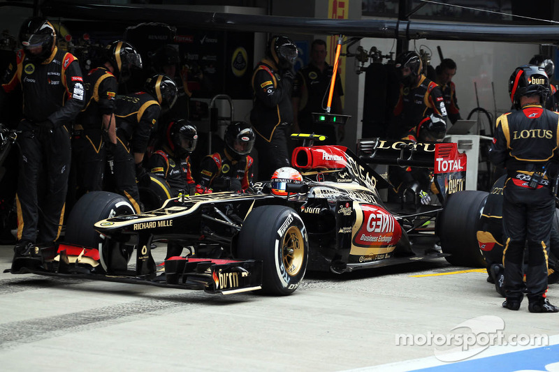 Lotus head to the site of first win with Kimi Raikkonen - Yas Marina Circuit