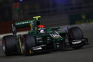 GP2 Qualifying report Rossi lights up Abu Dhabi qualifying
