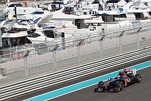 Formula 1 Practice report A challenging Friday practice for Toro Rosso at Abu Dhabi