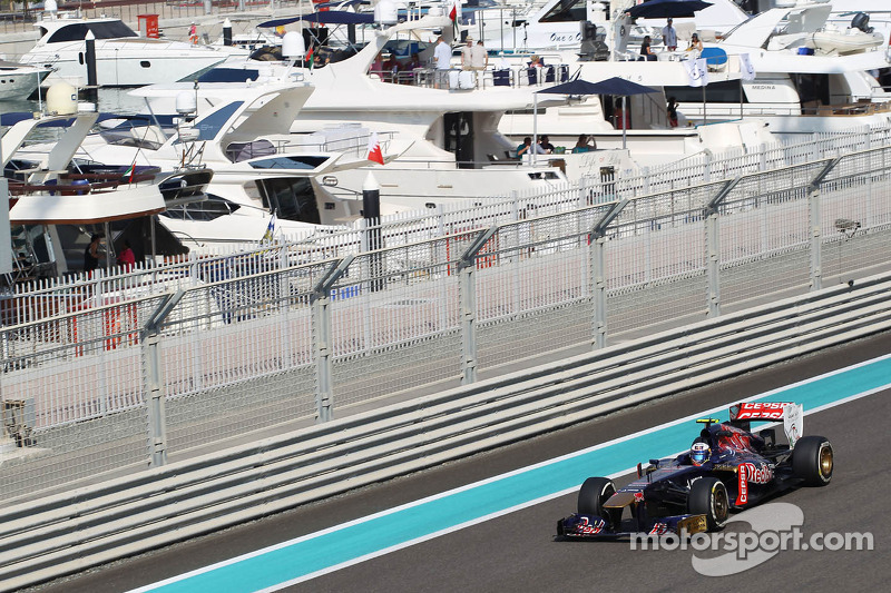 A challenging Friday practice for Toro Rosso at Abu Dhabi