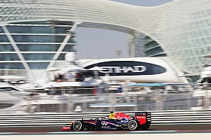 Vettel maintains control in final practice at Yas Marina