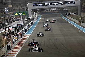 GP3 Race report Trident's Venturini completed the two races at Abu Dhabi in 11th and 9th place