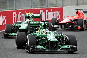 Formula 1 Breaking news Neither Caterham driver secure for 2014