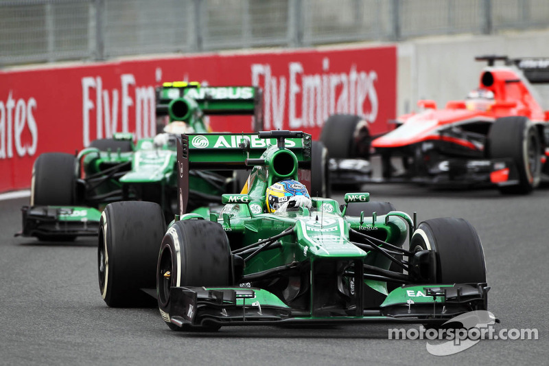 Neither Caterham driver secure for 2014