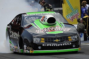 NHRA Qualifying report Langdon, J.Force, Edwards and Arana Jr. lead Friday qualifying in season finale at Pomona