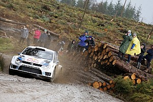 WRC Leg report Ogier leads in Wales after opening leg
