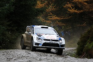 WRC Race report Ogier ahead of Latvala – Volkswagen one-two in Wales